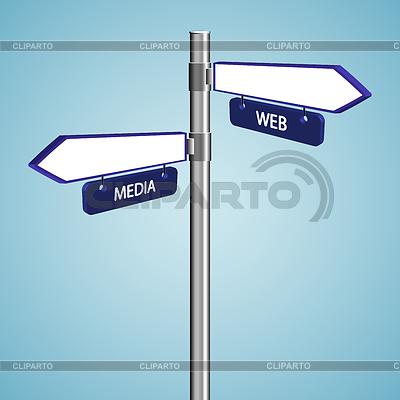 Znaki internetowych i mediów | Klipart wektorowy |ID 3247149
