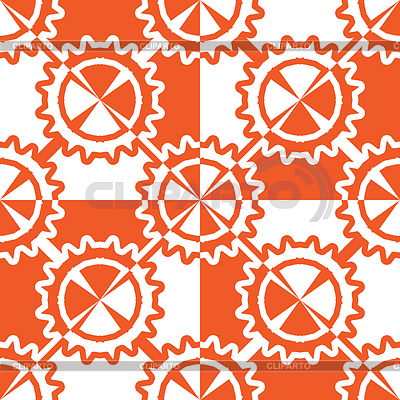 Geometric wheels pattern | Stock Vector Graphics |ID 5482816