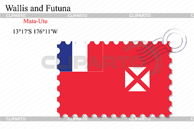 Wallis and futuna stamp design   High resolution stock illustration  ID 5539345