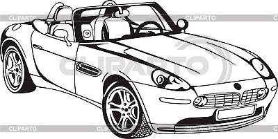 Samochód Cabriolet | Klipart wektorowy |ID 3000754