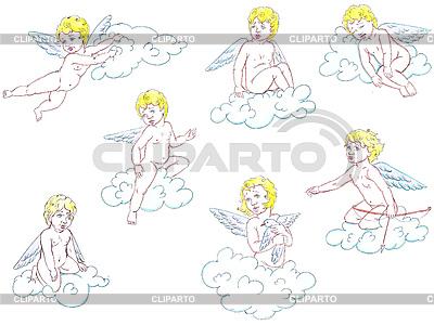 Schöne Engel | Illustration mit hoher Auflösung |ID 3022646