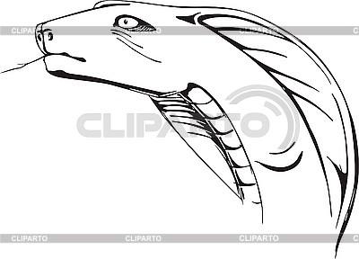 Szef Cobra | Klipart wektorowy |ID 3001150