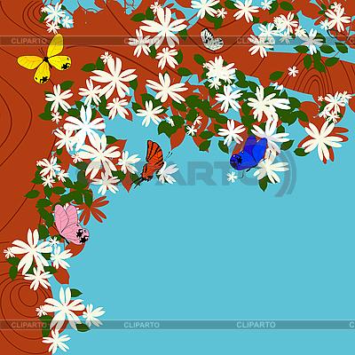 봄 패턴 | 벡터 클립 아트 |ID 3001868