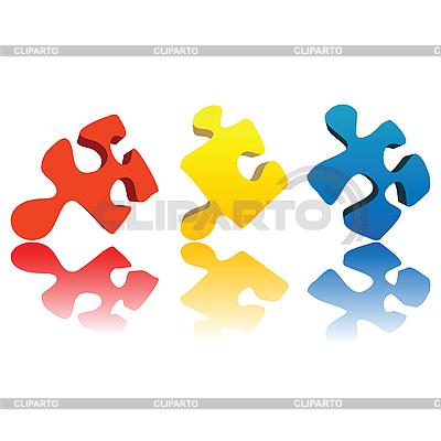 Puzzle | Stock Vektorgrafik |ID 3001931