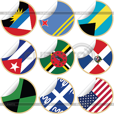 Collection of stickers/labels   Stock Vector Graphics  ID 3002006