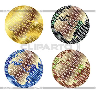 迪斯科地球 | 向量插图 |ID 3002042