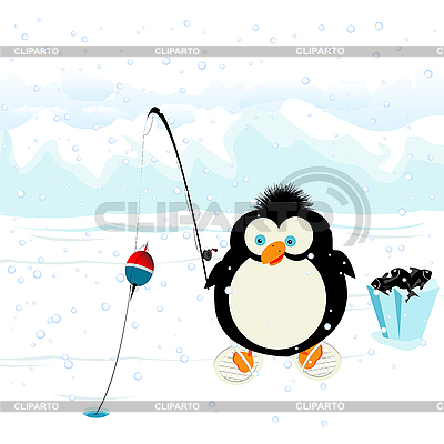 Funny penguin | Stock Vector Graphics |ID 3002078