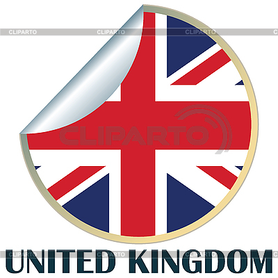 United Kingdom Sticker | High resolution stock illustration |ID 3002306