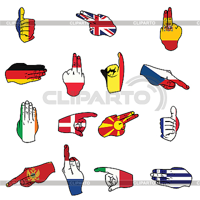 Flags of Europe | Stock Vector Graphics |ID 3002322