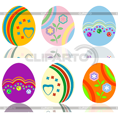 Easter eggs | High resolution stock illustration |ID 3002405
