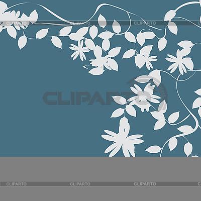 Blühender Ast - Hintergrund  | Illustration mit hoher Auflösung |ID 3002407