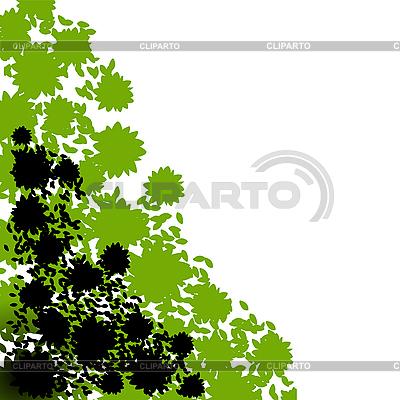 Corner foliage | Stock Vector Graphics |ID 3006068