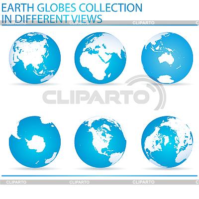 地球金球奖 | 向量插图 |ID 3006084