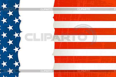 Grunge USA flag background | Stock Vector Graphics |ID 3006126
