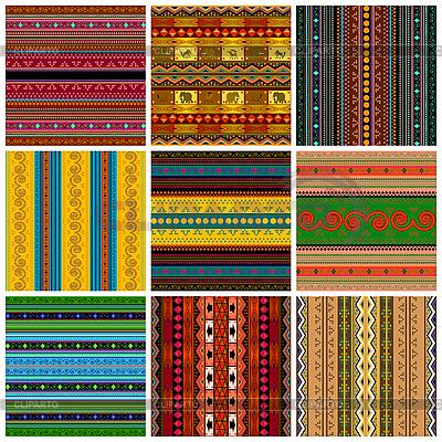 Dekorative traditionelle Muster | Stock Vektorgrafik |ID 3006306