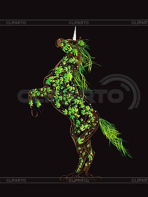 Fairytale unicorn | Klipart wektorowy |ID 3016471