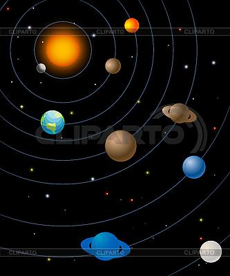 Sonnensystem | Stock Vektorgrafik |ID 3016661
