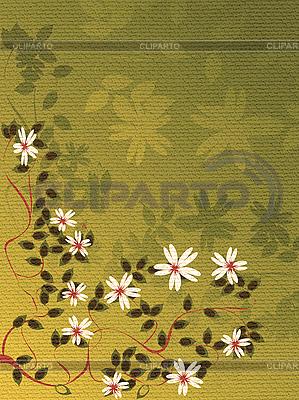 Karta kwiatu | Stockowa ilustracja wysokiej rozdzielczości |ID 3017967