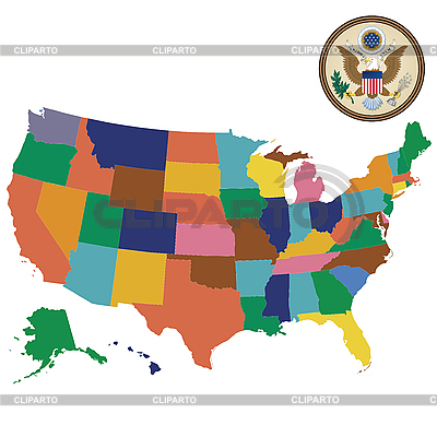 United States of America | Stock Vector Graphics |ID 3017996