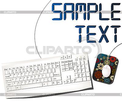 Maus und Tastatur | Stock Vektorgrafik |ID 3017998