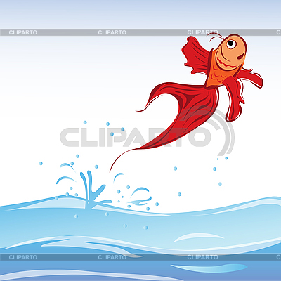 Red fish | Stock Vector Graphics |ID 3018278