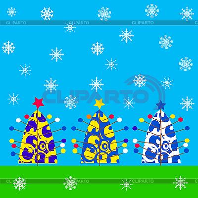 Weihnachtskarte | Stock Vektorgrafik |ID 3018323