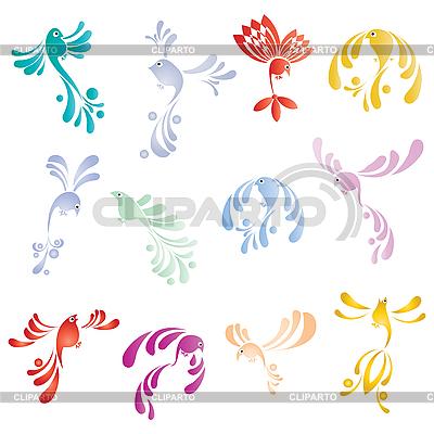 Tweet birds | Stock Vector Graphics |ID 3018387