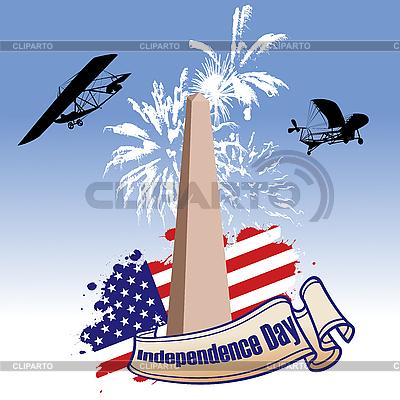 Niepodległości dni ilustrowany | Klipart wektorowy |ID 3018403