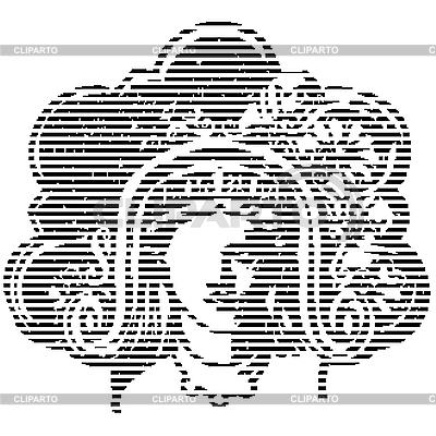 Aztekische Vignette | Stock Vektorgrafik |ID 3018488