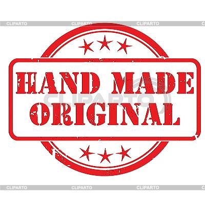 Ręcznie wykonane pieczęć | Klipart wektorowy |ID 3018681