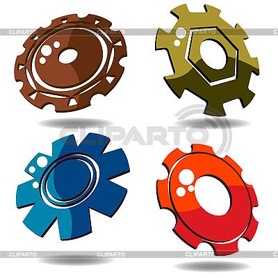 3d gears   Stock Vector Graphics  ID 3025130