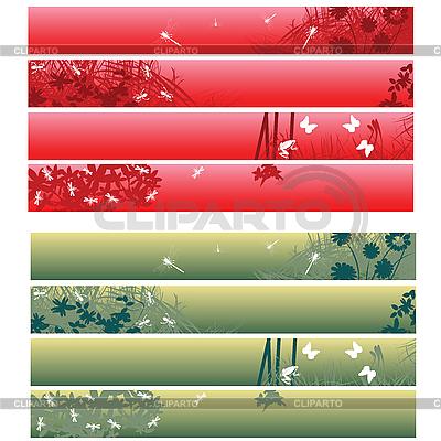Werbebanner und Header | Stock Vektorgrafik |ID 3025200