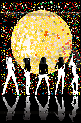 Disco party projekt | Klipart wektorowy |ID 3025223