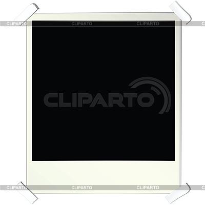 Пустая фоторамка   Иллюстрация большого размера  ID 3025233