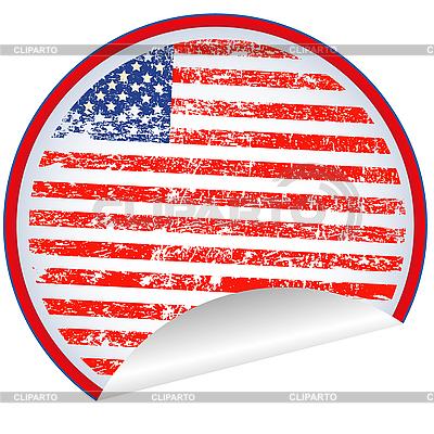USA 레이블   벡터 클립 아트  ID 3025294