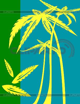 Palmen | Illustration mit hoher Auflösung |ID 3025371