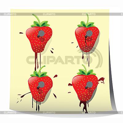 Erdbeeren | Illustration mit hoher Auflösung |ID 3025435