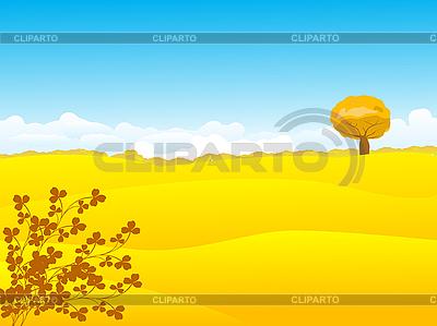 Beautiful autumn landscape   Stock Vector Graphics  ID 3032102