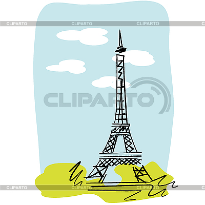 Eiffel Tower | Stock Vector Graphics |ID 3032164