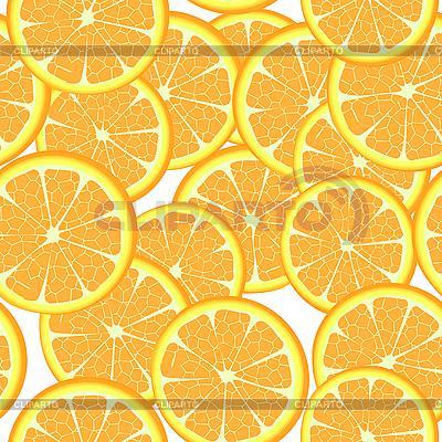 Seamless oranges | Stock Vector Graphics |ID 3032292