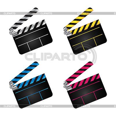 Movie clapper boards | Stock Vector Graphics |ID 3032353