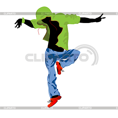 Groove dancer   Stock Vector Graphics  ID 3038877