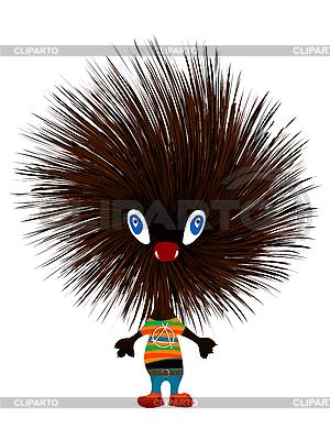 Hedgehog punk | Stock Vector Graphics |ID 3038889