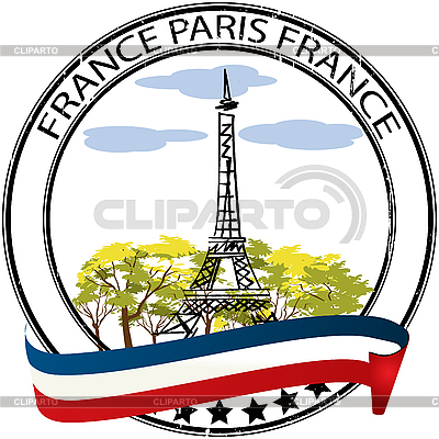 Paris stamp | Stock Vector Graphics |ID 3038901