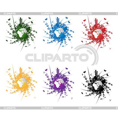 Ikon ekologii | Klipart wektorowy |ID 3038953