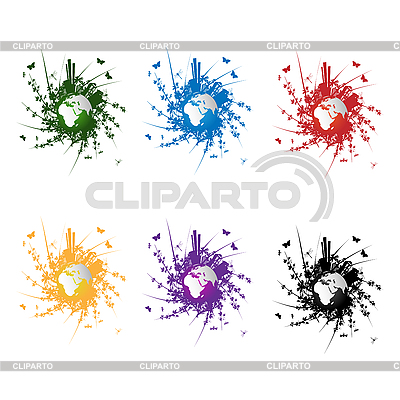 Öko-Icons | Stock Vektorgrafik |ID 3038953