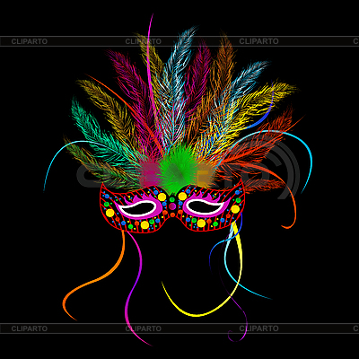 Mardi grass party mask | Stock Vector Graphics |ID 3039257