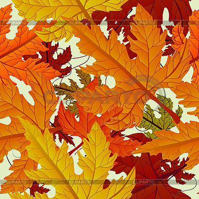 Autumn background of maple leaves | Stock Vector Graphics |ID 3089318