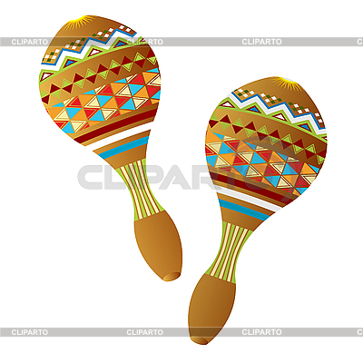 Maracas | Stock Vector Graphics |ID 3095024
