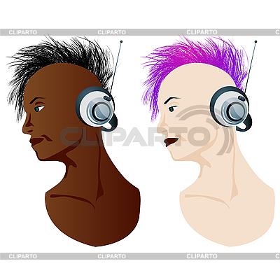 Słuchacz muzyki | Klipart wektorowy |ID 3117692
